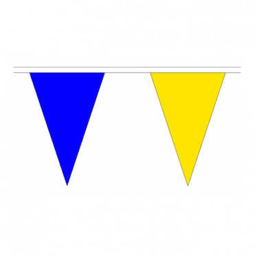 Blue & Yellow Bunting 20m Tour De Yorkshire