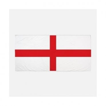 St George Flag Beach Towel