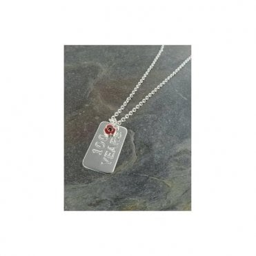 Poppy Identity Tag Necklace