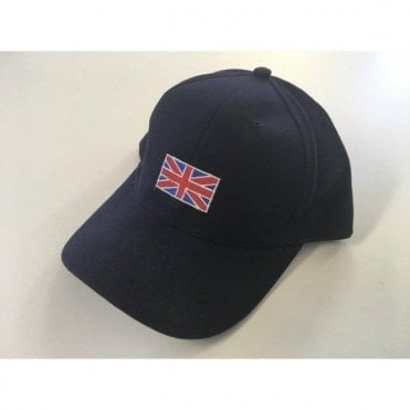 Union Jack Flag Baseball Cap in Blue