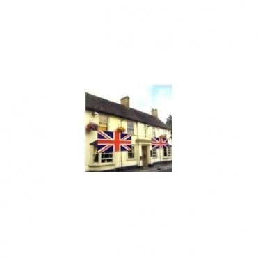 HUGE Union Jack Flag 9ft x 9ft  House - Pub