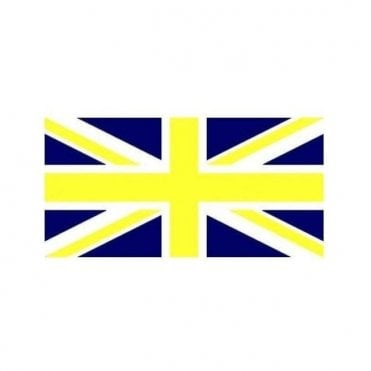 Blue and Yellow Union Jack Flag 8' x 5'  Great Britian XL Flag