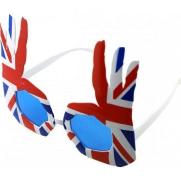 Union Jack Sunglasses - OK Hands