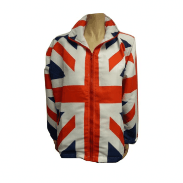 Ladies Lightweight Union Jack Jacket / Coat