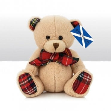 "Teddy Bear ""Scott"" 6"" tall Stewart Tartan"