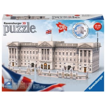 Buckingham Palace 3D Puzzle, 216pc