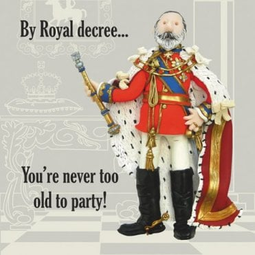 Edward V11 Birthday Card