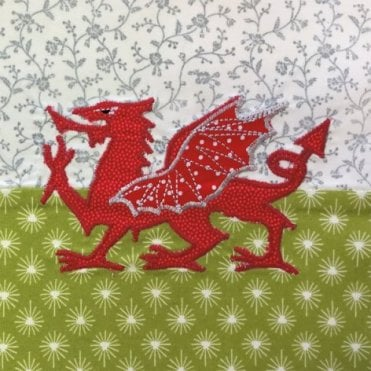 Welsh Dragon Birthday Card - Wales