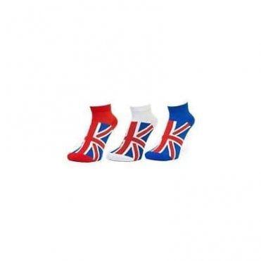 Union Jack Mens Sports Socks