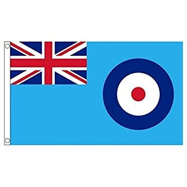 RAF Blue Ensign Hand Flag 2ft