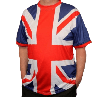 Union Jack All Over Classic Design T shirt