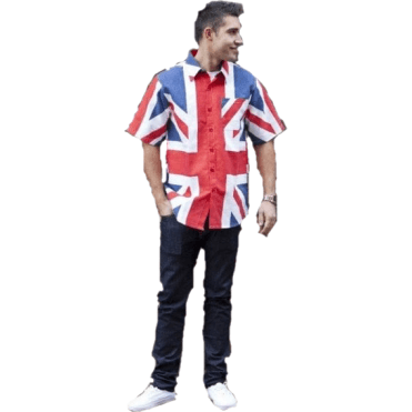 Union Jack Short Sleeve Shirt