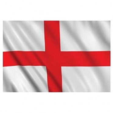 "St George Cross England Hand Flag 2ft - 17"" x 11"" Flag"