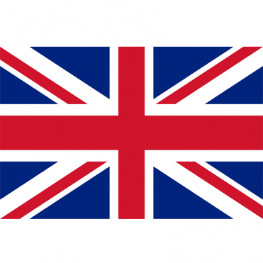 Union Jack Hand Flag 2ft pole
