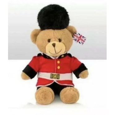"Guardsman Teddy Bear 15"" to the top of his hat"