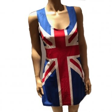 Ladies Union Jack Dress - Ginger Spice?