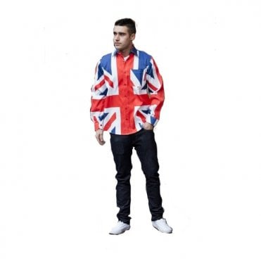 Union Jack Long sleeved Shirt