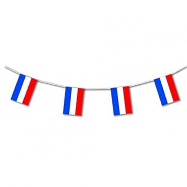 Red White & Blue Stripe's - Netherlands Holland - Flag Bunting 5m
