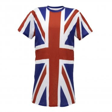 Union Jack Ladies Nightdress / Nightshirt