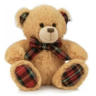 "Teddy Bear ""Scotty"" 8"" tall Stewart Tartan"
