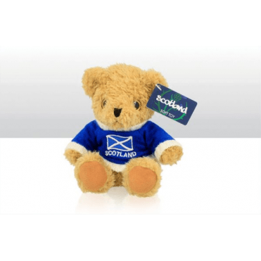 Teddy Bear with Scotland Jumper - 15cm