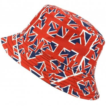 Union Jack Flag Bucket Hat