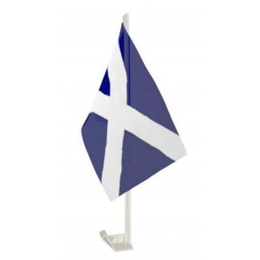 Scotland St Andrews Car Flag - Saltire