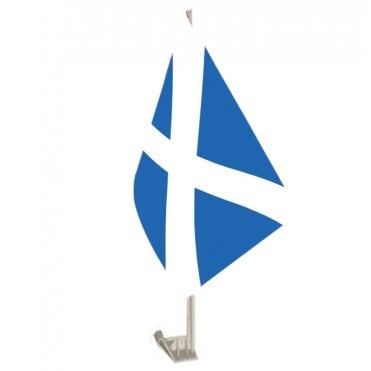 Scotland St Andrews Car Flag - Saltire - pale Blue