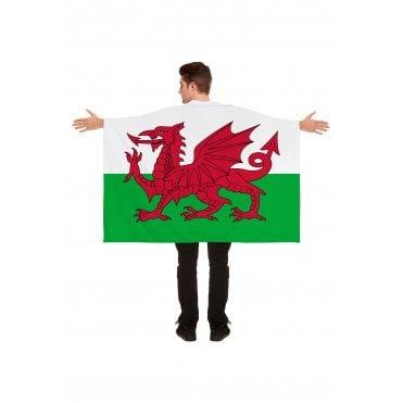 Wales Flag cape