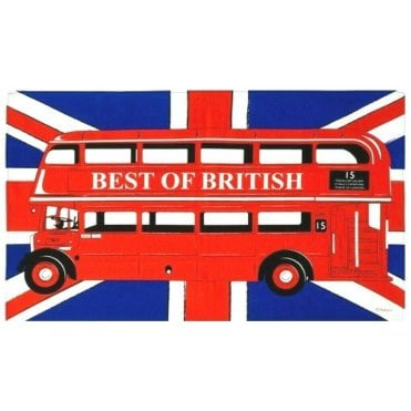 London Bus Tea Towel