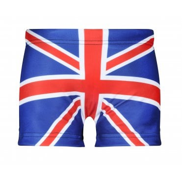 Boys Union Jack Swimming Trunks