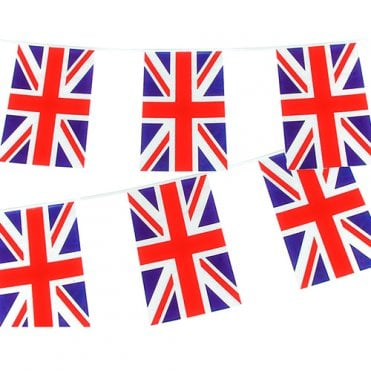 Union Jack Rectangular Bunting 10m