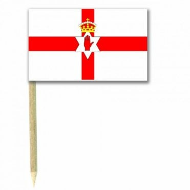 Northern Ireland Flag Party picks Pack of 50
