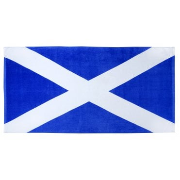 Scotland St Andrews Flag 100% Cotton Beach Towel
