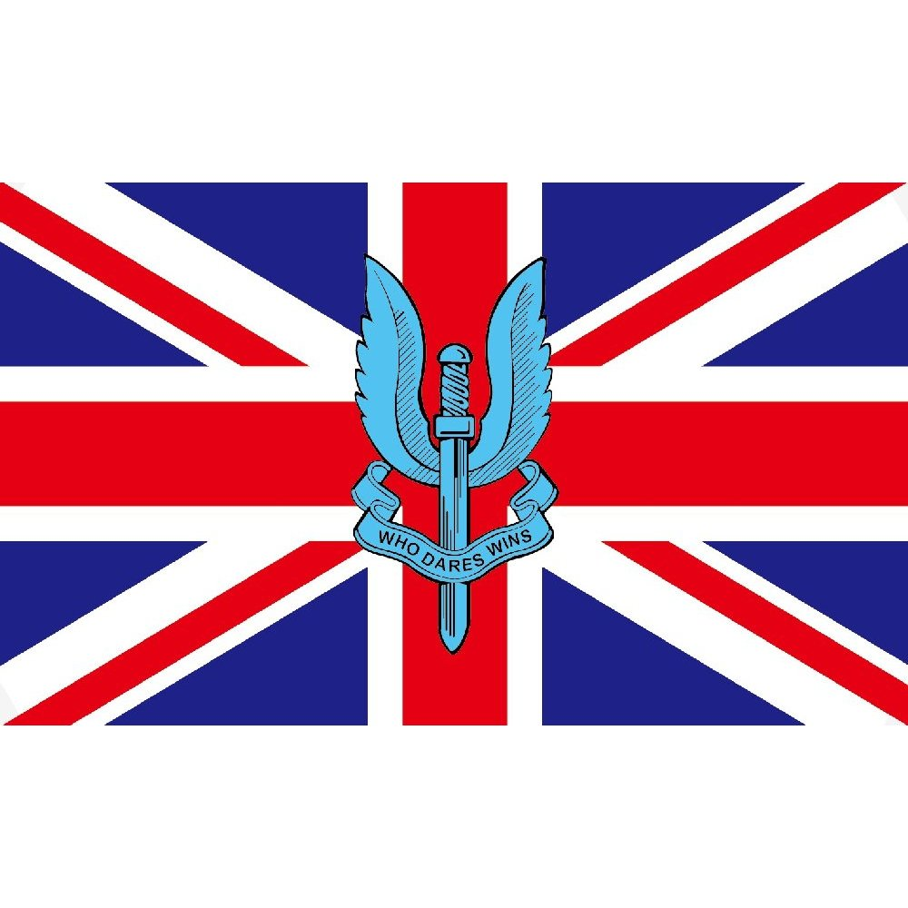 Union jack special air service flag for Sessel union jack
