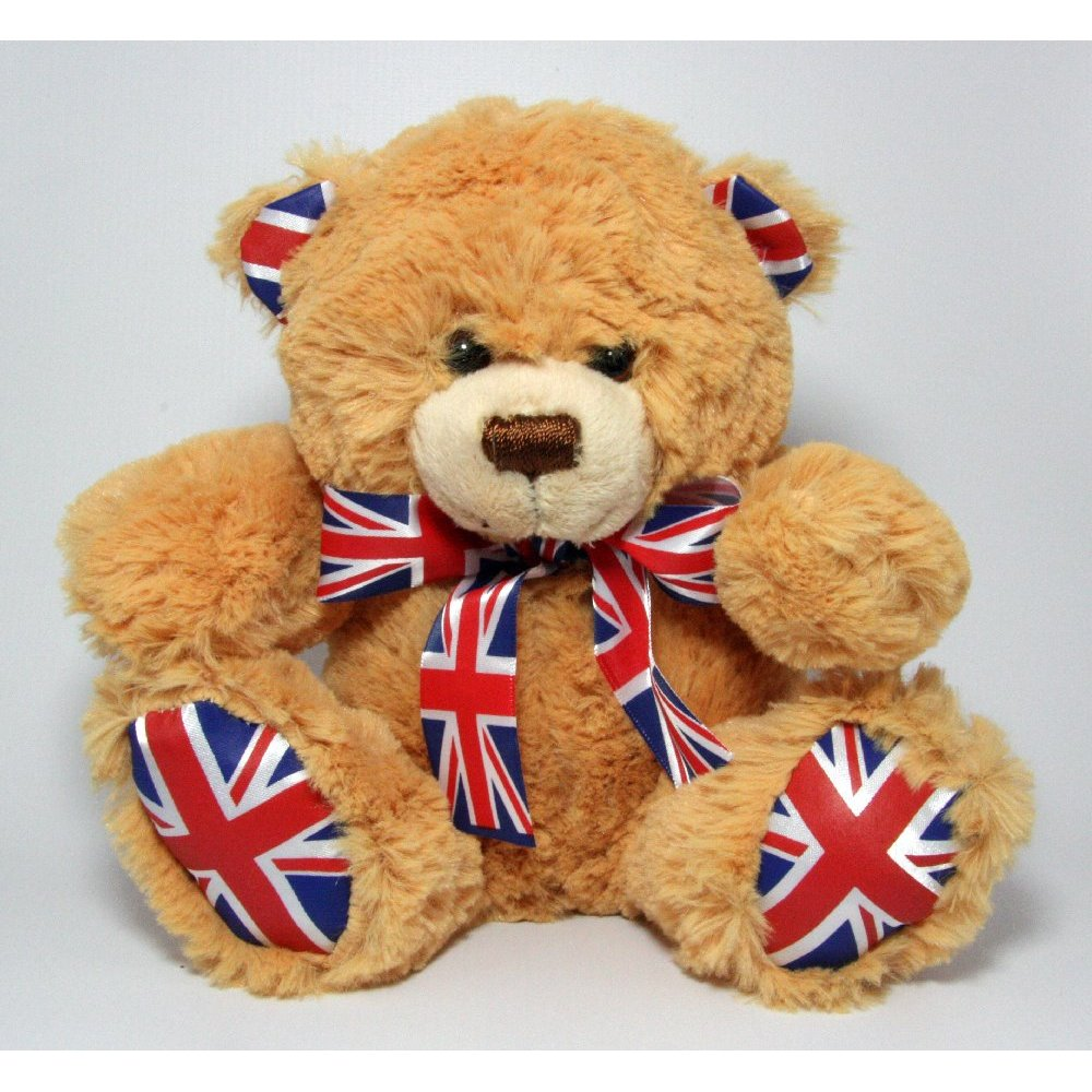 Union Jack Proud To Be British Teddy Bear