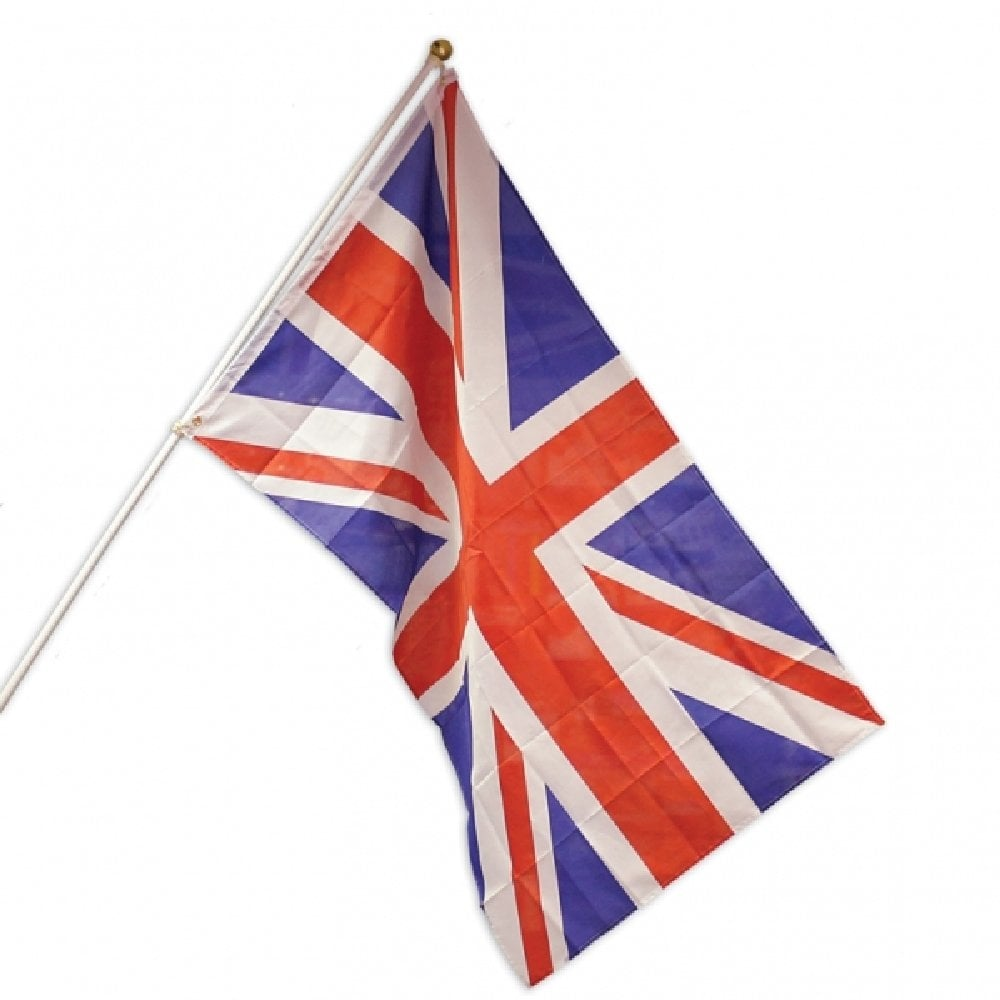 Union Jack Value Flag Pole Kit